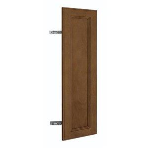 Nimble by Diamond 9 -in W x 30-in H x 0.75-in D Mocha Base Cabinet Door