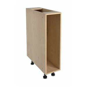 Nimble by Diamond 9-in W x 30-in H x 24-in D Prefinished Maple Engineered Wood Door Base Cabinet