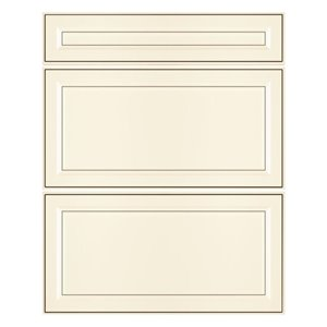 Nimble by Diamond 24-in W x 30-in H x 0.75-in D Toasted Antique Base Cabinet Drawer Fronts