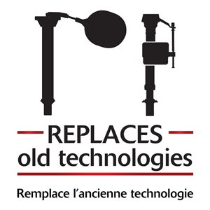 2-in Korky Universal Fit QuietFILL Toilet Repair Kit - Fill valve & Flapper
