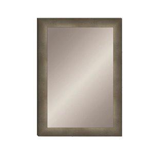 allen + roth 24X36 Mini Stud Mirror Grey Fade