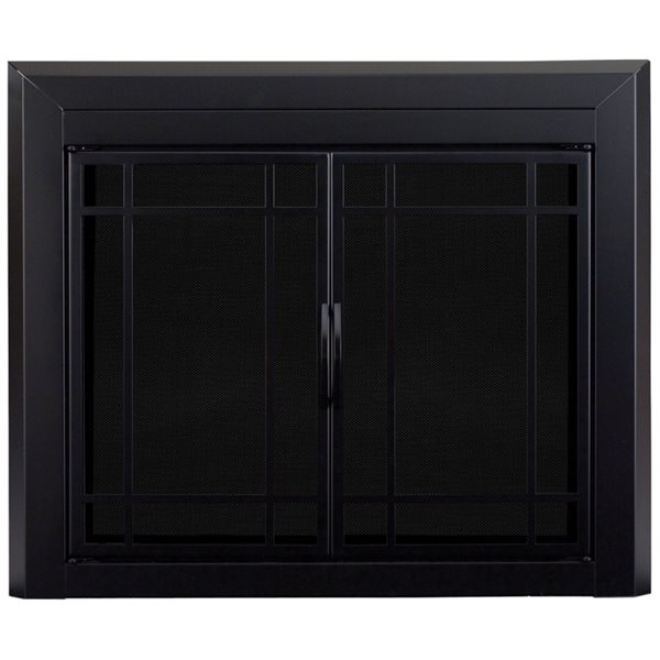 Terrific Pleasant Hearth Easton Small Fireplace Doors Home Remodeling Inspirations Genioncuboardxyz