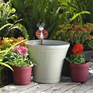 Gardenique Lady Bug Planter Fountain