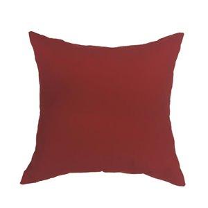 Sunbrella Red Canvas Cushion