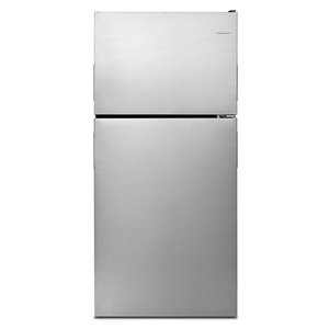 Amana 30-in 18.15-cu ft Top-Freezer Refrigerator (Stainless Steel)