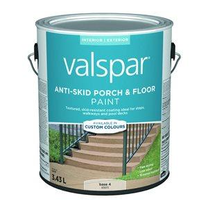 Valspar Gallon Exterior Satin Porch And Floor Tintable