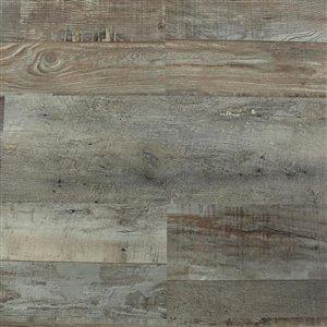 Mono Serra Group Barnwood Gray 4-mm Luxury Vinyl Plank Flooring (6-in W x 48-in L)