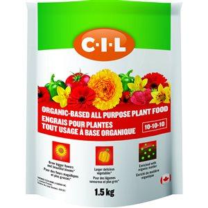 CIL organic based All purpose Food (10-10-10)