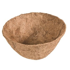 12-in Round Coconut Fiber Planter Liner