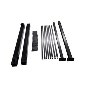 Regal 48-in Aluminum Deck Railing Gate Package - Black