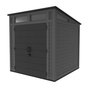 Suncast 7-Ft x 7-Ft Modern Storage Shed with Windows BMS7780