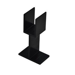 Black Deck Stair Rail Support Leg