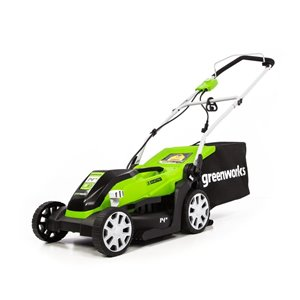 Greenworks 9-Amp 14-in Corded Electric Lawn Mower