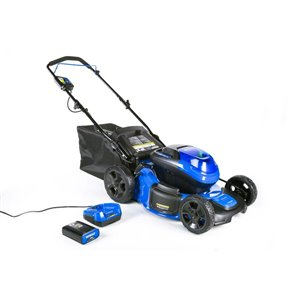 Kobalt 20-in 40-Volt MAX Brushless Cordless Electric Push Lawn Mower (3-in-1)