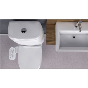 Kleen Standard Kleen Bidet Spa Toilet Attachment With Dual