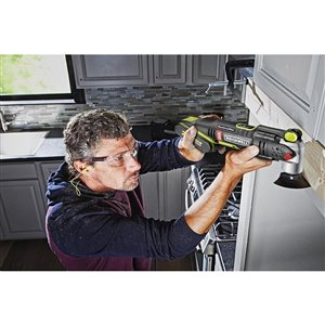 ROCKWELL Sonicrafter 12-Piece Cordless 2.0-Amp 20-Volt Max-Volt Oscillating Tool Kit