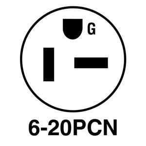 Legrand 3-Wire Grounding Plug