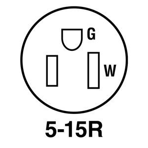 Legrand 15 Amp 125-Volt Yellow 3-Wire Grounding Plug