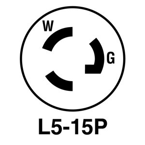 Legrand 15 Amp 125-Volt Black 3-Wire Grounding Connector