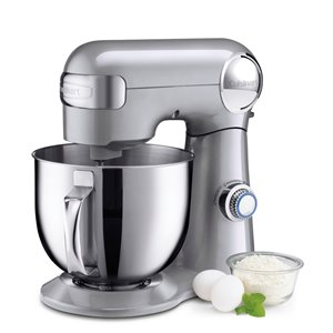 Cuisinart 5.5-Quart 12-Speed Silver Countertop Stand Mixer