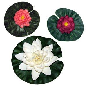smartpond 3-Piece Floating Lily Pad Set