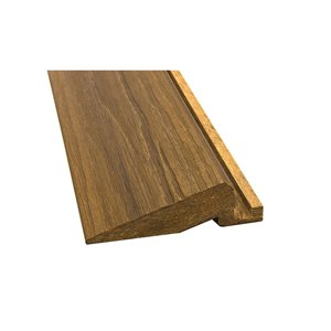 Aura 4-Pack 24-in Elite Honey Teak Deck Square Transition