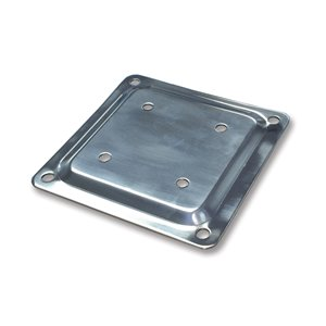 Fixplak Stainless Steel Post Deck Connector Base Plate