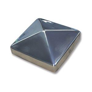 Pylex 4-in x 4-in Stainless Steel Deck Post Cap