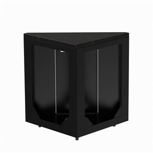 Master Forge Modular Black Granite Corner Unit