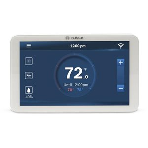 Bosch White Smart Thermostat (Wi-Fi Compatible)