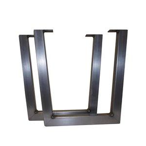 Live Edge 20-in Medium Steel Table Legs (2-Pack)