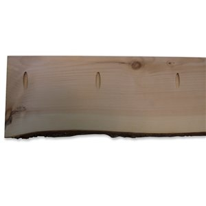 Live Edge Natural Live Edge Slab Pine Rectangle Coffee Table Top (Actual: 2-in x 8-in x 72-in)