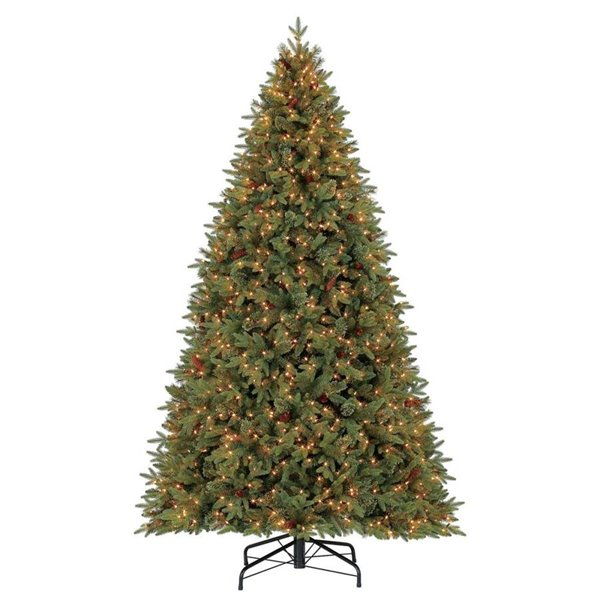 Christmas Tree Picture.Holiday Living 9 Ft Hayden Pine Incandescent Artificial Christmas Tree