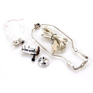 Litex 250-Watt Brushed Nickel Lamp Socket