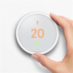 Nest Thermostat E White Smart Thermostat (Wi-Fi Compatible)