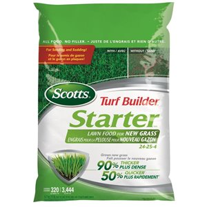 Scotts 10-lb Turf Builder Starter Lawn Food for New Grass (24-25-4)