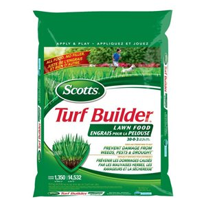 Scotts Turf Builder Lawn Food (30-0-3)