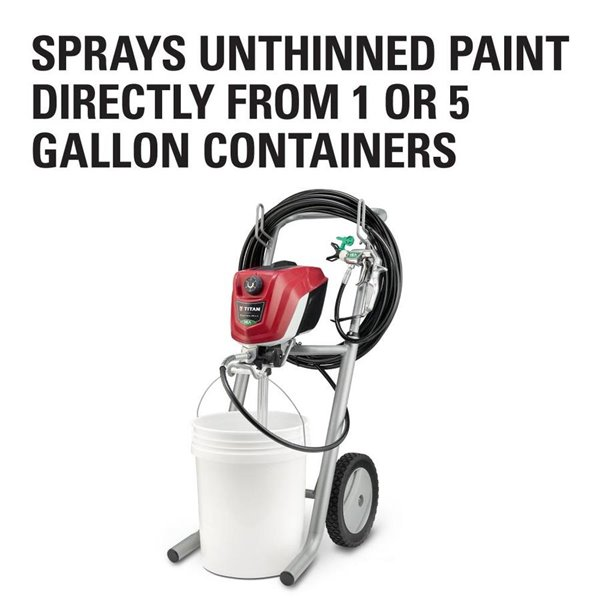 Titan Controlmax 1700 Pro Electric Airless Paint Sprayer