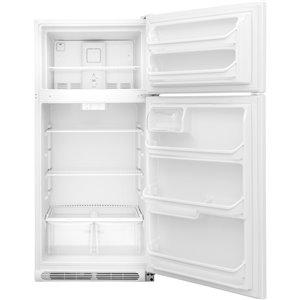Frigidaire 30-in 18-cu ft Top-Freezer Refrigerator (White)