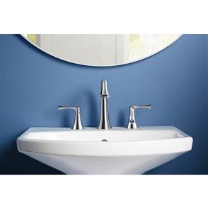 KOHLER Lilyfield Polished Chrome Widespread 2-Handle Bathroom Faucet