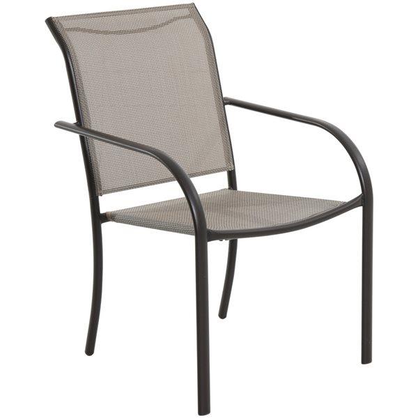 Outstanding Garden Treasures Ashville Bronze Patio Sling Chair Download Free Architecture Designs Rallybritishbridgeorg