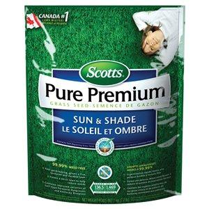 Scotts 2.2-lb Pure Premium Rescue Grass Seed Blend/Mixture