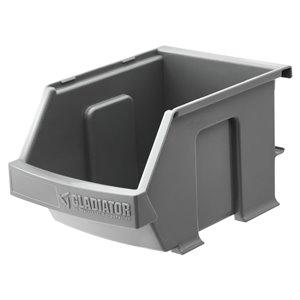 Gladiator 3-Piece Charcoal Utility Bin