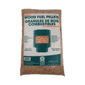 Bag Size-Uom:Lbs. Wood Pellets