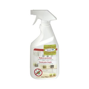 SamaN Ready to Use Formula 800ml, Kills 99.9% of Bacteria, Viruses and Germs, Free From Chlorine and Phosphates