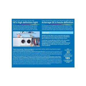 GE 60W LED G25 HD RFR CL DIM (2-Pack)