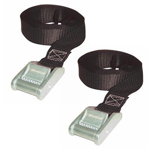 Keeper 1-in x 13-ft Cam Buckle Lashing Strap 2 Pack