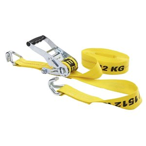 Keeper 2-in x 27-ft Ratchet Tie-Down with J Hooks