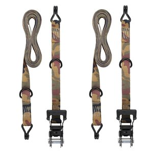 Keeper 1-1/4-in x 16-ft Ratchet Tie-Down (2-Pack)