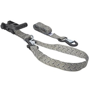 Keeper 1-1/4-in x 8-ft Ratchet Tie-Down (2-Pack)